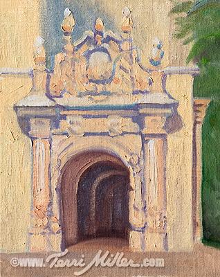 Balboa Park Arch