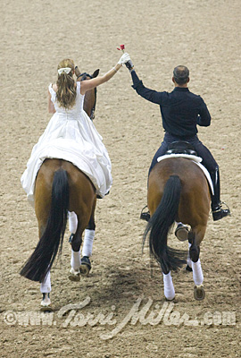 Beth Ball and Guenter Seidel