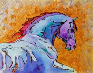 Lavender Stallion