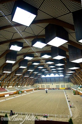 The Grand Manege at Saumur