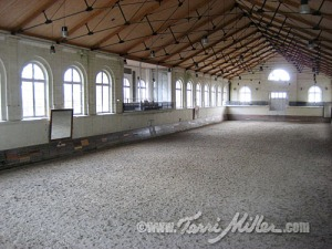 The old Riding Hall in Saumur
