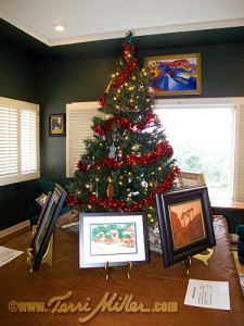 Holiday Art Tree