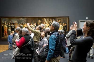 How to view art, circa 2013