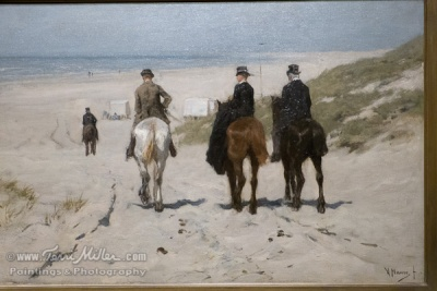 Morning Ride Along the Beach: Anton Mauve