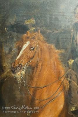 Detail of The Battle of Waterloo: Jan William Pieneman