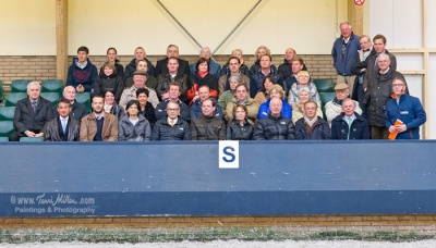 The attendees at the International Dressage Trainers Club conference.