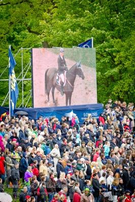 Huge Derby crowd