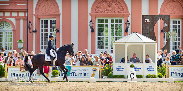A man, a plan, a castle.... Axel at C for the Grand Prix at Wiesbaden