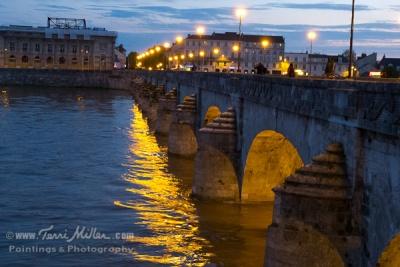 The bridge over the Loire at Saumur