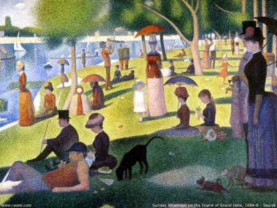 Sunday Afternoon on the Island of Grand Jatte: George Seurat