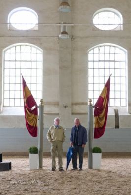 Axel and Uwe at the von Neindorff school
