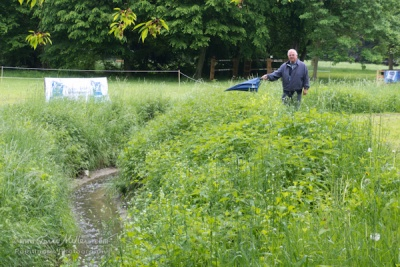 The infamous ditch at the Schlosspark