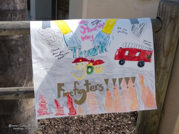 Thank you from the kinds on Stoneridge Way