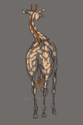 Curvy Giraffe